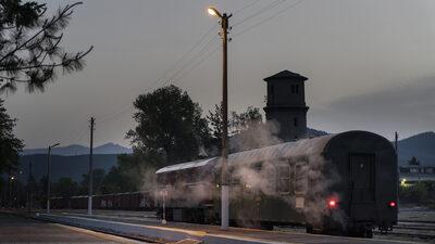 The lifeline train of the Rhodope mountain