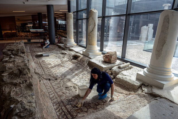 16 centuries later: the Bishop's Basilica of Plovdiv reopens as a kingdom of mosaics
