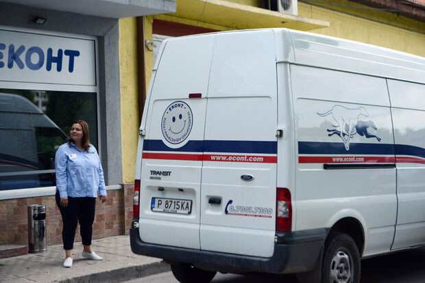 The Bulgarian courier going into digital currency