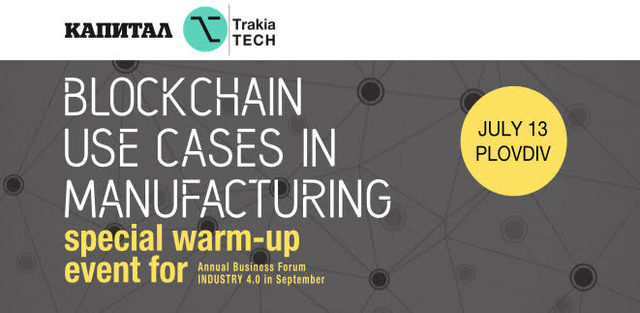 Blockchain use cases in manufacturing