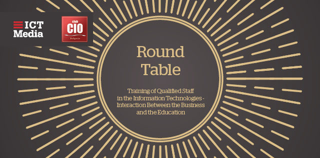 Round Table part of the project IT Manager of Year Awards 2018