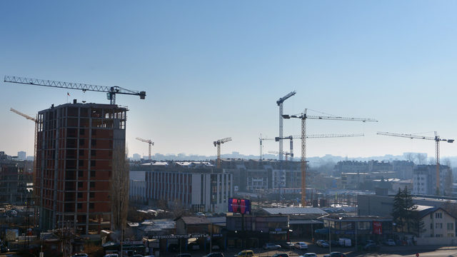 The construction boom is suppressing the prices of the real estate