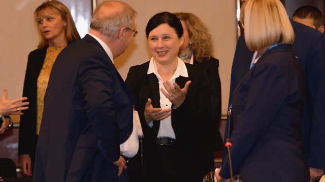 Vera Jourova, EU's Justice Commissioner said last year that every time she looks at the facts, she is doubtful of Bulgaria's intention to fight corruption. Now it seems facts got different interpretation.