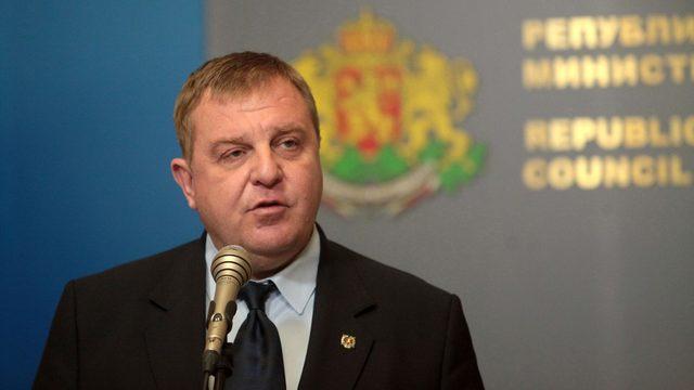 Defense Minister Krassimir Karakachanov