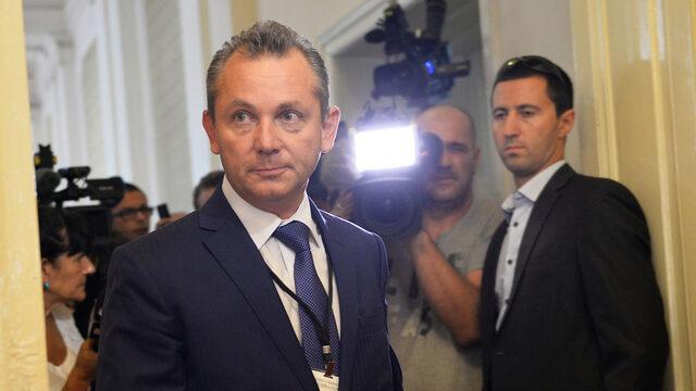 The now-ex head of the counterintelligence Dimitar Georgiev