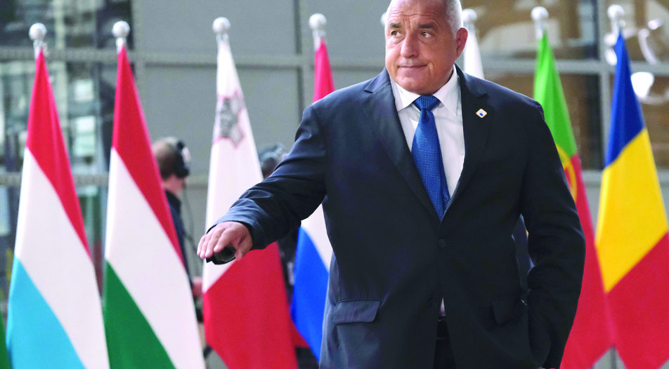 """The prime minister Boyko Borissov seemed satisfied with EU's decision to postpone the opening of the accession talks with Macedonia """"because they still have some problems"""""""