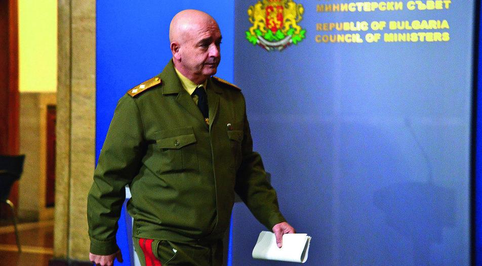 Major General Ventsislav Mutafchiyski — a man with a mission
