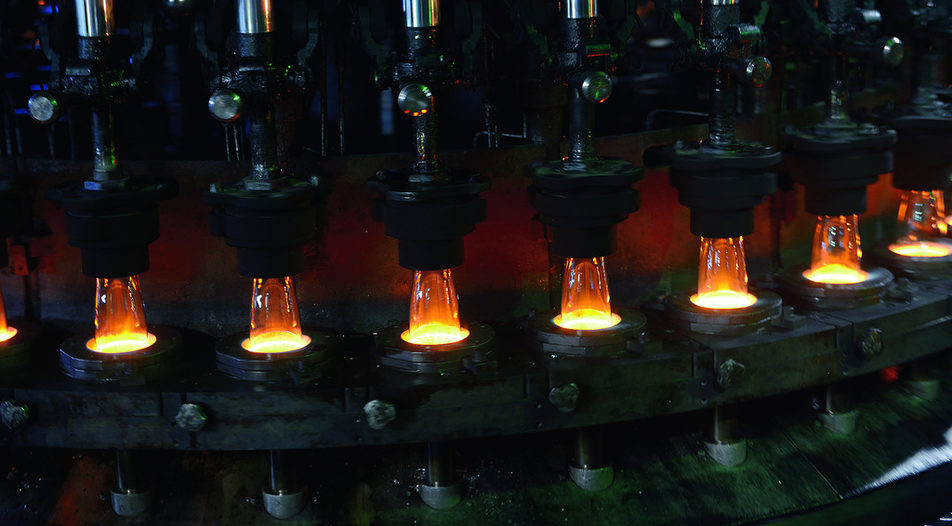 The factory of Novo staklo in Novi Pazar manufactures products mainly for export
