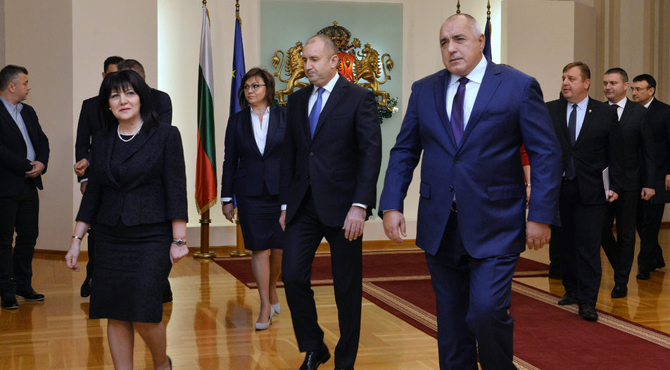 Speaker of Parliament Tsveta Karayancheva (on the left) and Prime Minister Boyko Borissov have a complicated relationship these days...