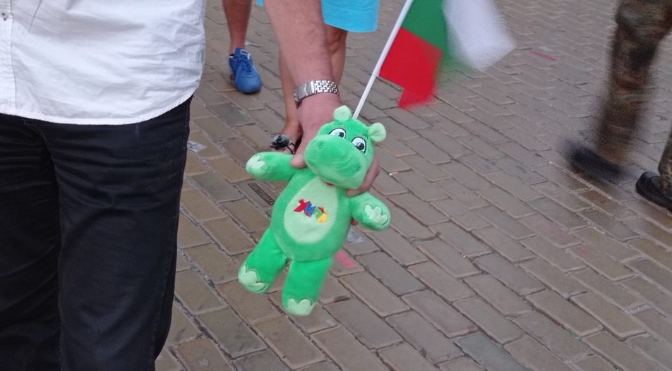 Buying Hippoland toys became a pertinent symbol of the resistance of 2020 protesters to state capture