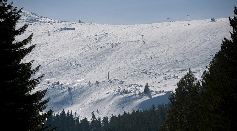 Ski slopes are open