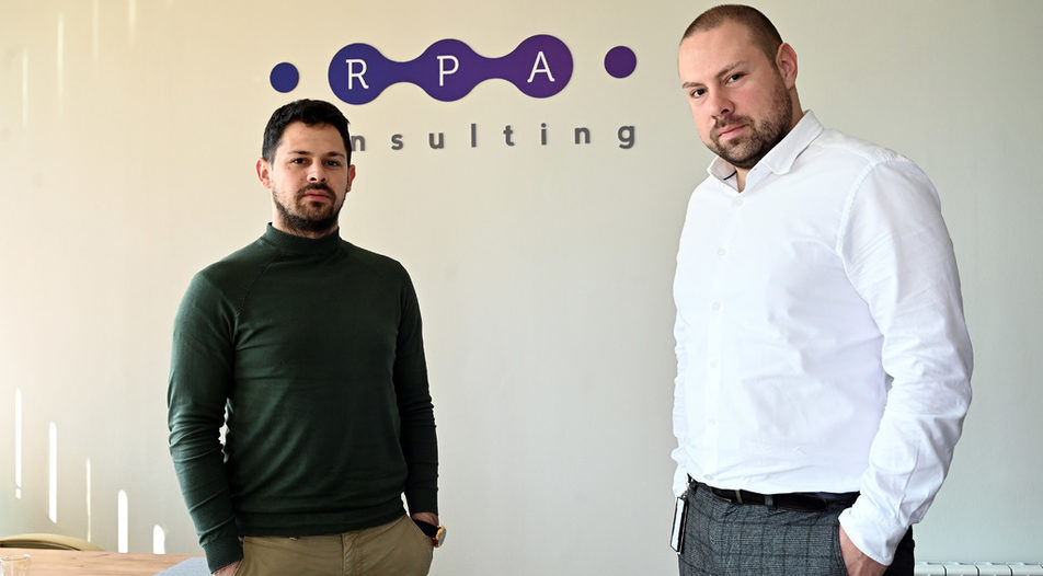 Alexander Nedyalkov (left) and Krasimir Krastev (right) are hreading the company's transformation into a products-based firm