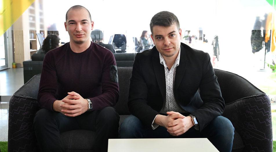 Co-founders Boyko Karadzhov (left) and Hristo Borisov (right)