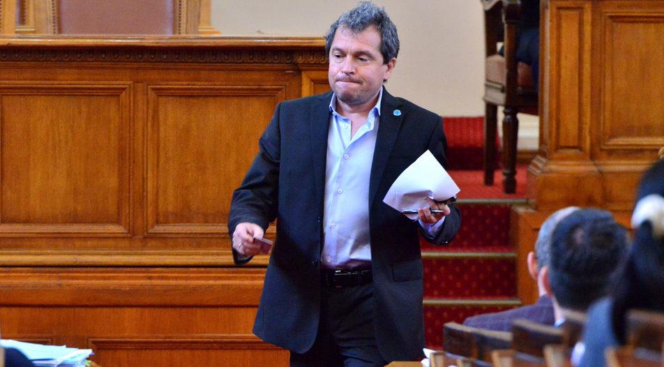 The parliamentary chair of TISP Toshko Yordanov