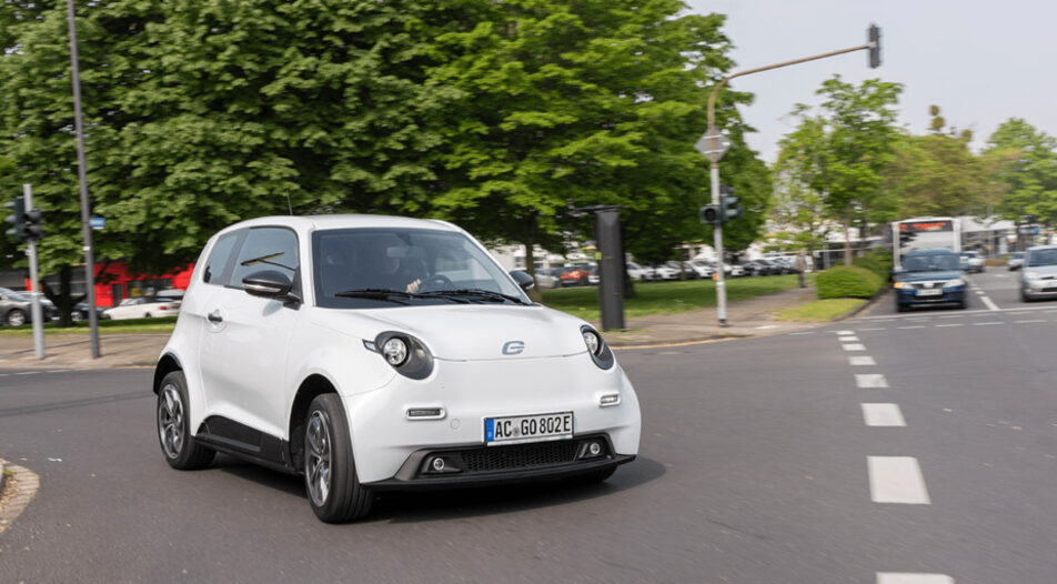 The Next.e.GO Mobile model can drive up to 130 km in one charging
