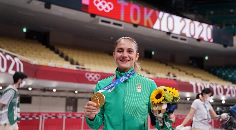 Ivet Goranova, Olympic champion in Karate (55 kg)