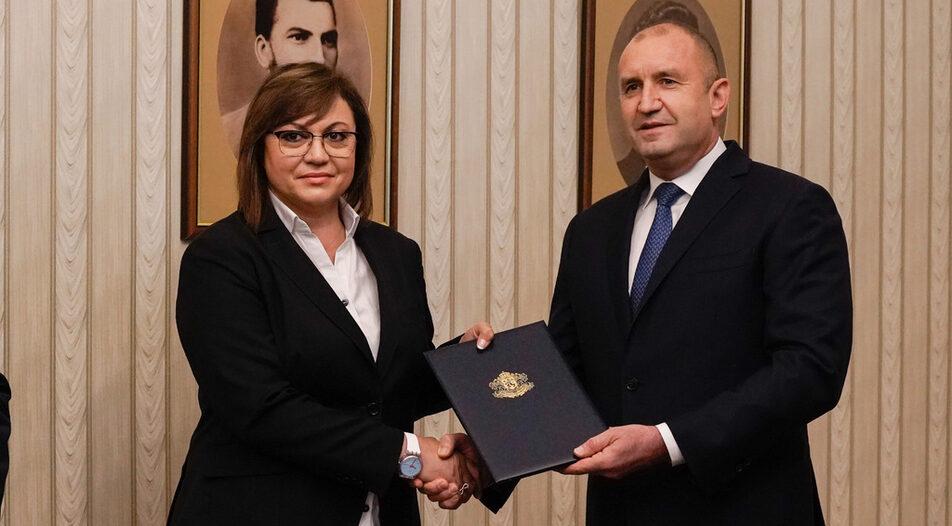 Kornelia Ninova, leader of BSP