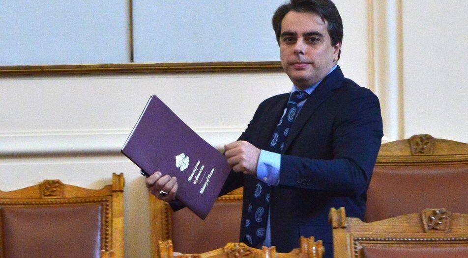 Asen Vassilev, former caretaker Finance Minister