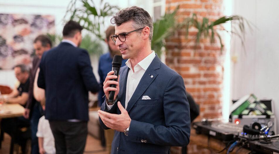 Giuseppe Di Benedetto, co-founder of the Open Bulgaria platform