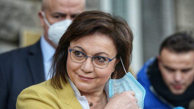 Kornelia Ninova, leader of the BSP